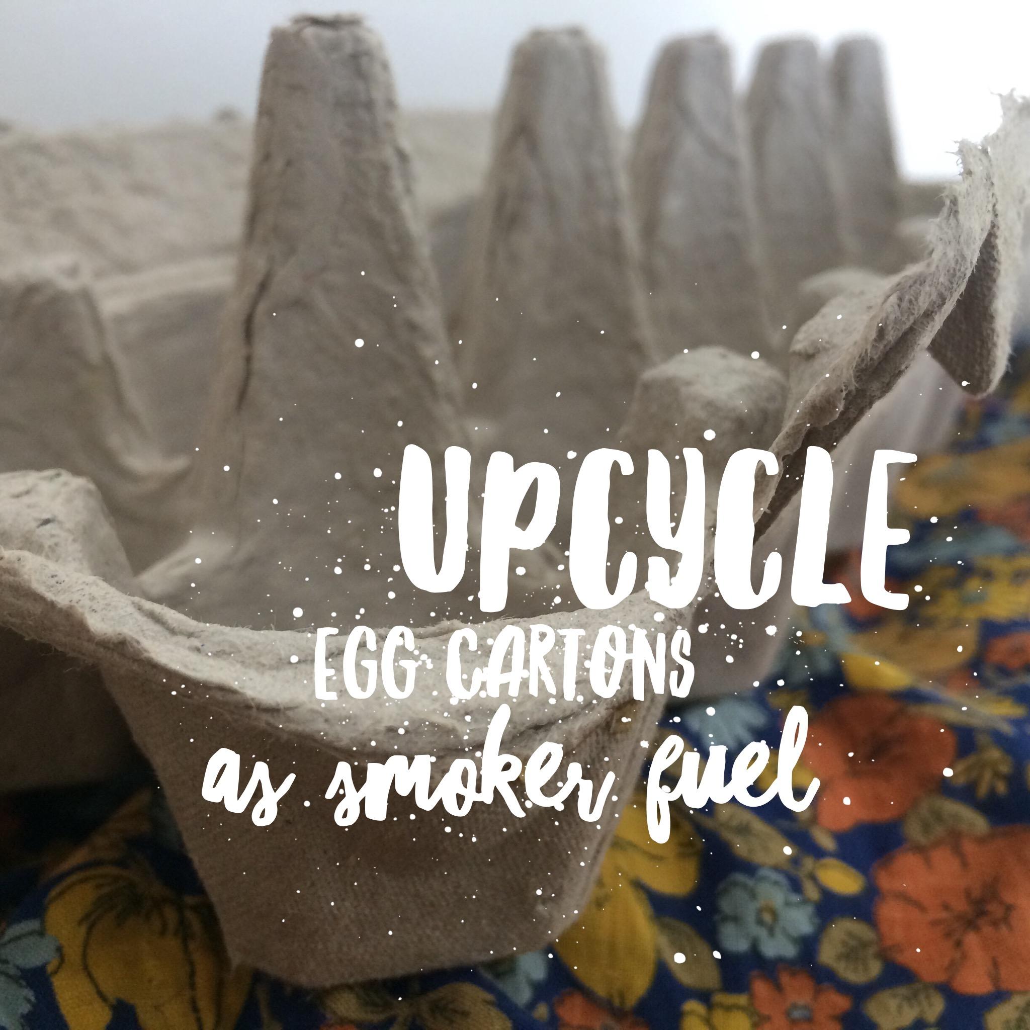 Beekeeping Lifehack: Egg Cartons as Smoker Fuel