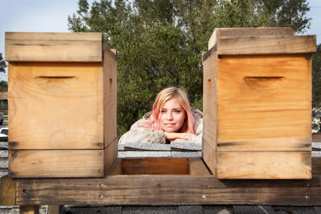 Hilary Kearney author of Beekeeping Like A Girl