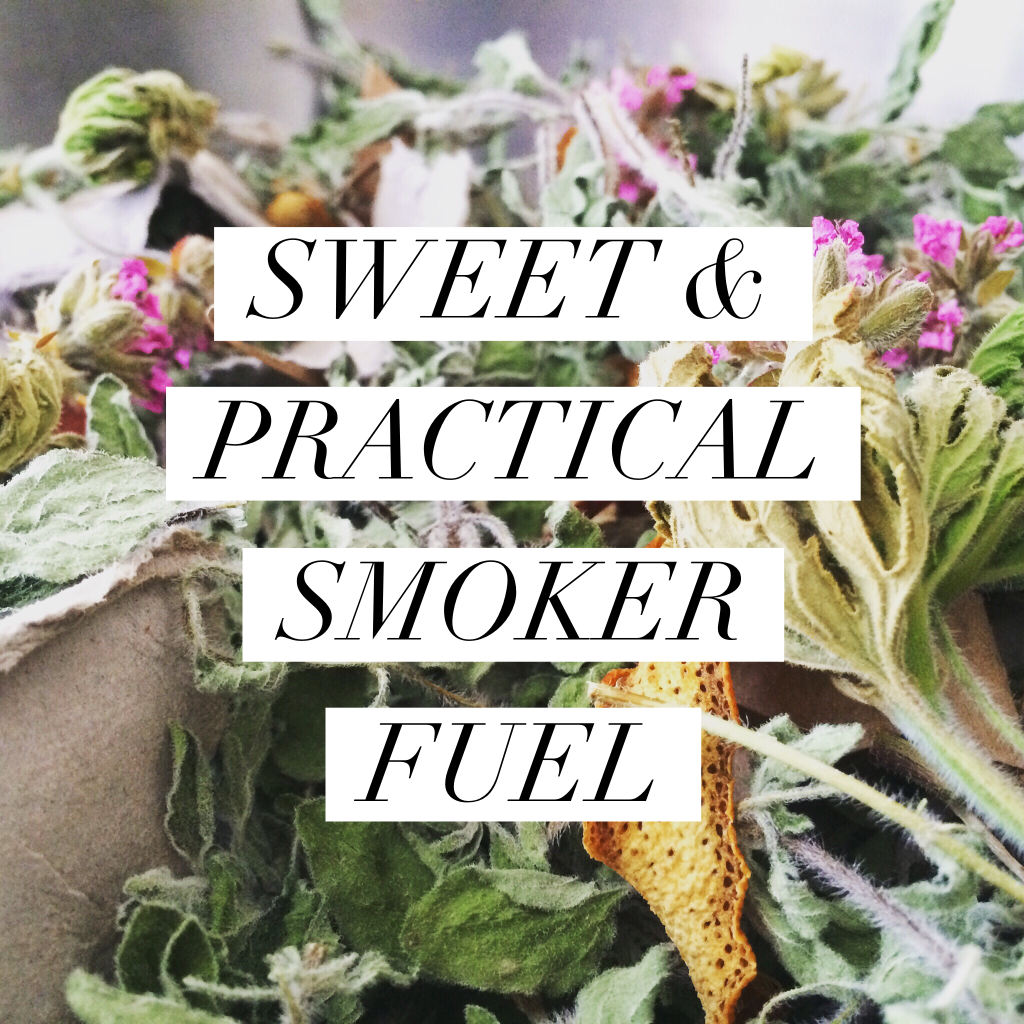 SWEET & PRACTICAL SMOKER FUEL FOR BEEKEEPERS