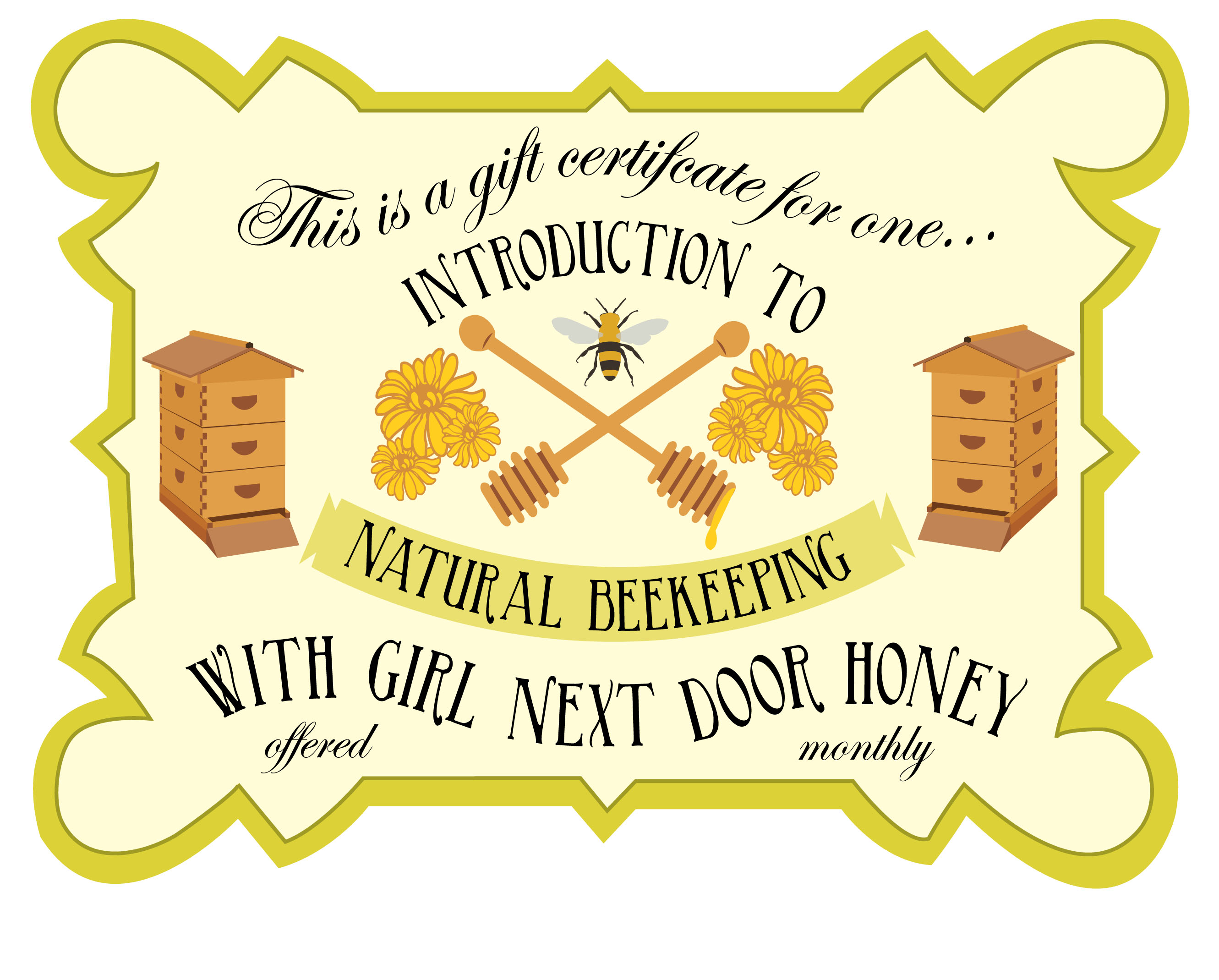 Intro to Beekeeping Certificate